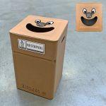 Vuilbak Rest Smile 37x37x60cm karton