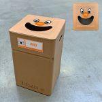 Vuilbak PMD Smile 37x37x60cm karton