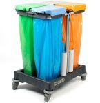 Afvalverzamelwagen WMU 280 - 4x70 liter