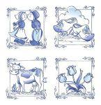 Placemat Delftware 27x42 (2500) 474527